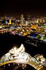 IMG_3050-1 (wen-ren) Tags: museum night marina canon singapore nightshot esplanade mbs marinabay imagesofsingapore 18135mm marinabaysand canon550d