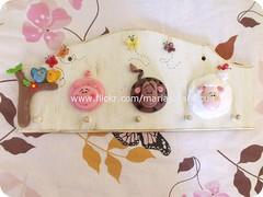 Porta chaves (Alane  maria julia biscuit) Tags: cold cow julia handmade maria biscuit porcelain vaca fazenda vaquinha fazendinha