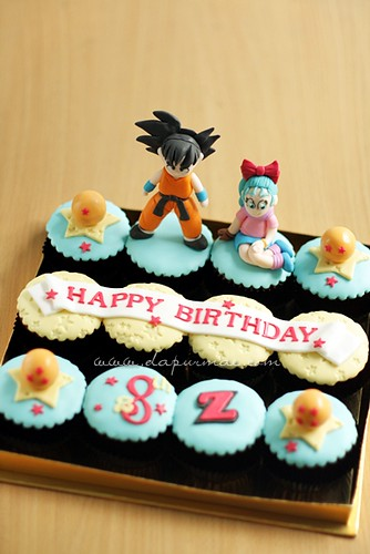 Dragonball Cupcake Set