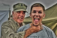 WHY YOU LITTLE MAGGOT!!!! (dfworks) Tags: humorous hdr mailcall ermey photomatix 1xp