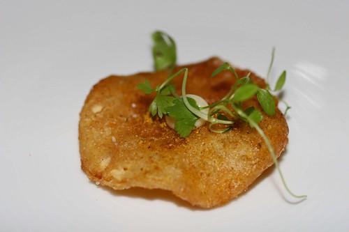 Fried lemon with smoked aioli