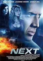 Póster y trailer en castellano de 'Next', con Nicolas Cage