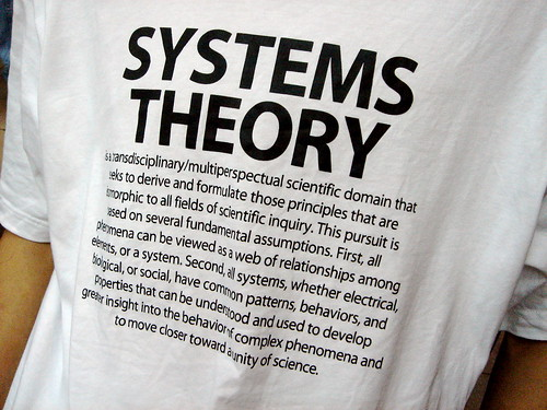 Systems Theory: The T-shirt