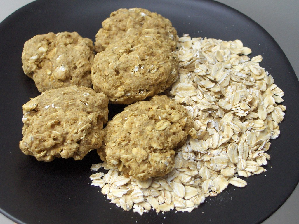 Oatmeal Cookies (w/recipe)