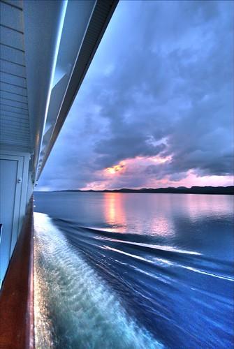 MV Norwegian Star - Starboard Side Sunset