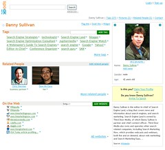 Danny Sullivan's profile on Spock.com