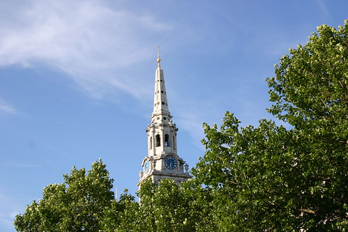 The Spire of St Martin-in-the-Fields