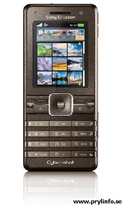 sony ericsson k770i mobil telefon