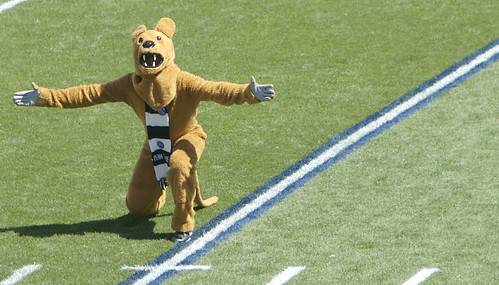 Nittany Lion, courtesy of Ben Stanfield