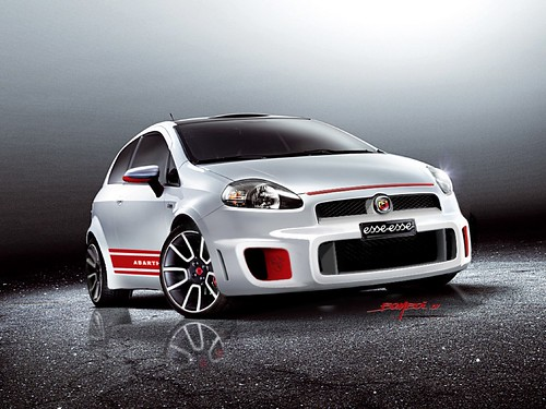 "Fiat Grande Punto Abarth ""essesse"" (Super Sport) Concept Car,car, sport car"