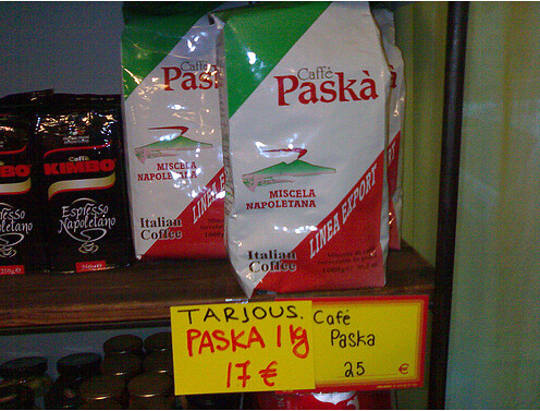Paska café, probablemente sea una mierda de café