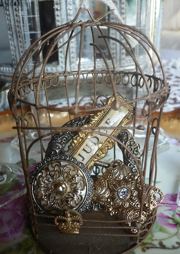 tiny birdcage