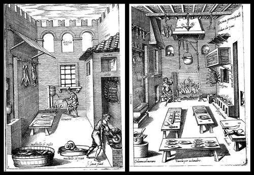 Opera di M. Bartolomeo Scappi (1570) Cucina Principale