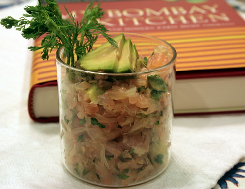 Pomelo Salad and Book