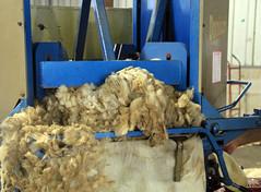 Wool baler