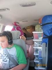 The car ride home (mn_josie) Tags: camping 2010 glaciallake