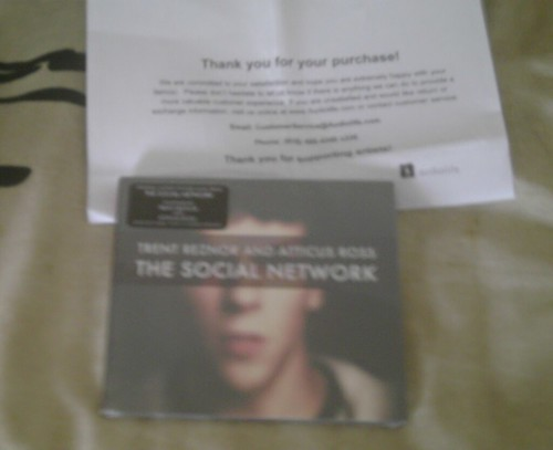"Face du digipak ""The Social Network"""