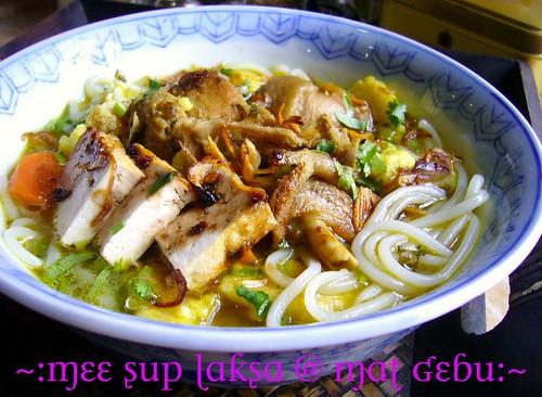mee sup laksa