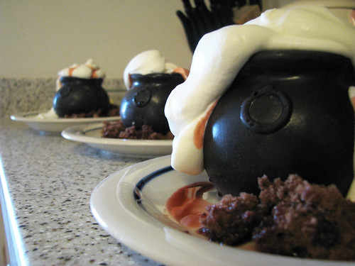 Cauldron Cakes - Final Product
