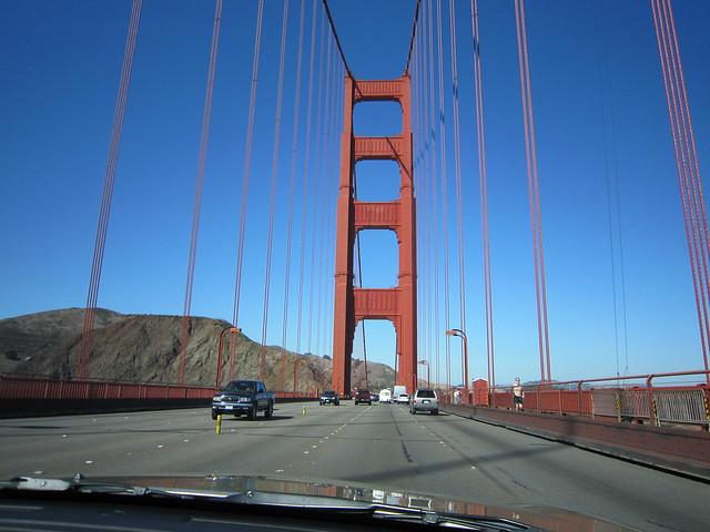 Day Five Golden Gate Bridge Crossing