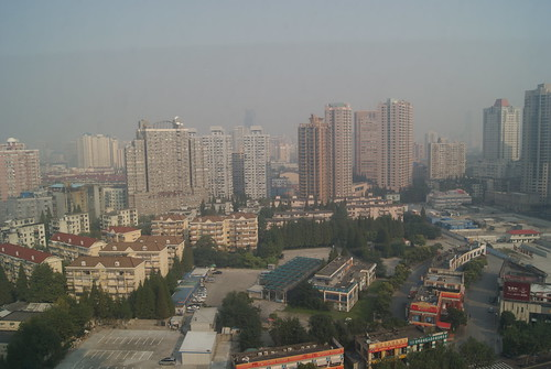 View from Marriott Courtyard Xujiahui, Shanghai