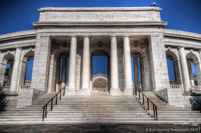 Arlington Memorial Amphitheater Entrance