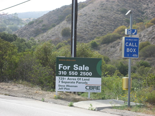 james cameron's for sale sign