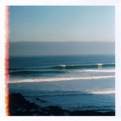 (Rebecca...) Tags: uk sea film 35mm cornwall waves fuji pentax south newquay surfing 200 fistral sp500
