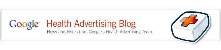 Google Health Advertising Blog