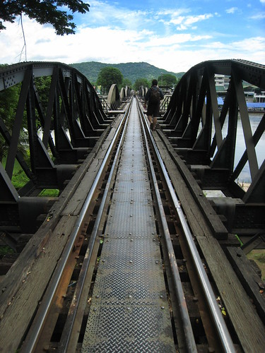 Vanishing point, Bridge over the River Kwai