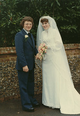 Mum and Dad Wedding 2 (Robotik: Michael) Tags: wedding 1975