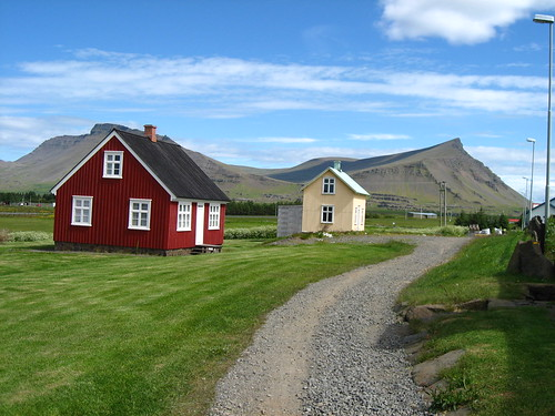 Old houses of Akranes