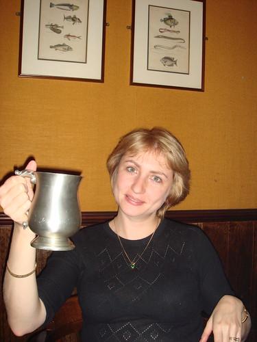 42.inna w pewter ale mug