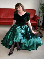 Smile (Paula Satijn) Tags: shoes shiny velvet tgirl transvestite babydoll bouffant satin silky longskirt blackstockings ballgown bigskirt fullskirt satinfetish