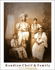 Kandian Cheif and Family (Thushan Sanjeewa) Tags: family blackandwhite bw sepia vintage asian island asia king sister father indianocean mother lions srilanka ceylon eighties sari cheif necklaces southasia sinhalese olddresses flickrsbest bangals kanadian veryoldphotos aplusphoto searchandreward