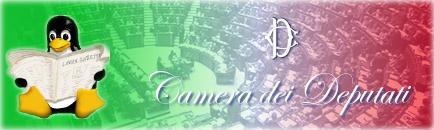 Tux alla Camera dei Deputati