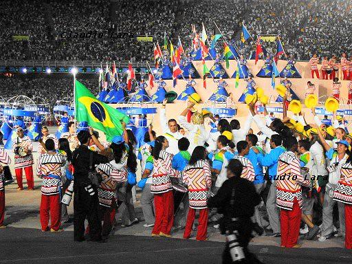Pan Rio 2007 - Cerimônia de Abertura - 2007 Pan American Games
