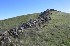 Rock wall, Ed Levin County Park