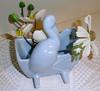 Stork Vase