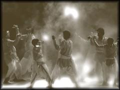 Janapada Jaatre - Dancers - by M e d a