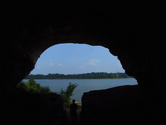 "The Opening Of ""Cave In Rock"" (mightyquinninwky) Tags: statepark history river geotagged 5 pirates award explore cave hitchcock invite ohioriver rivervalley cccp riverbanks southernillinois criminals illinoisstatepark ohiorivervalley darkhistory supershot platinumphoto anawesomeshot rivercave superbmasterpiece caveinrockillinois 1on1landscapesphotooftheweek geo:lat=37468591 geo:lon=88152409 caveinrockstatepark riverpirates banksoftheohio littleegyptarea 1on1landscapesphotooftheweekoctober2007 caverscavescavingphotoscccp exploreformyspacestation bestofformyspacestation"