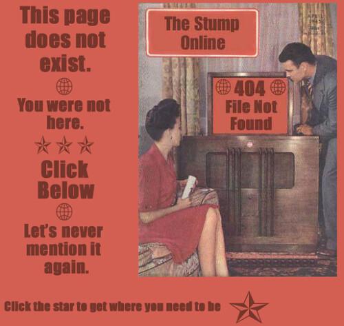 Retro style pure denial 404