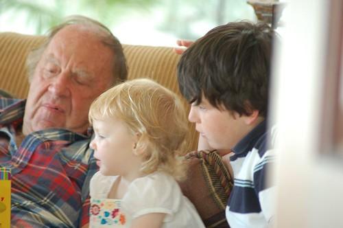 Grandpa Reads Dora