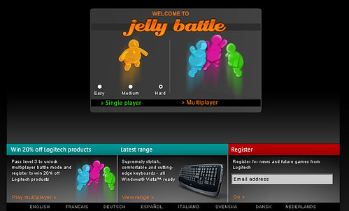 Jelly Battle 主畫面