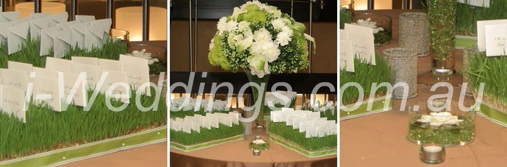 iLoveThese - garden escort card display