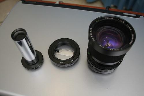 Using a telescope using a telescope using a telescope