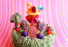 Enchanted Garden (~Trs Chic Cupcakes by ShamsD~) Tags: house tree mushroom by cupcakes topiary candy lavender cupcake tres chic butterfliy sugarpaste designercupcakes shamsd shamimadesai cupcakesinsouthafrica cupcakesfromsouthafrica cupcakesinpietermaritzburg weddingcupcakesinsouthafrica weddingcupcakesinpietermaritzburg