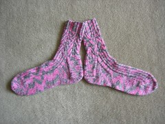 Completed June Sock Club Socks