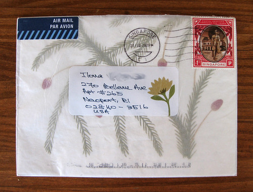 letter from Singapore