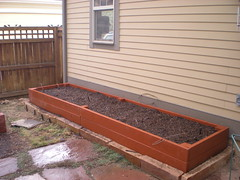 Our New Raised Bed With Soil